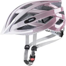 UVEX Air Wing Kask rowerowy Dzieci, różowy/biały